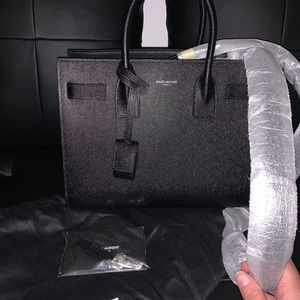 YSL Baby Sac De Jour *BRAND NEW* silver hardware